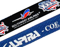 Custom Printed Nylon Lanyards
